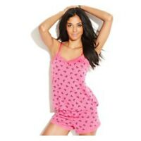 Women's Junior Jenni By Jennifer Moore Xs S M Bows Dots Camisole Pajama Set $36