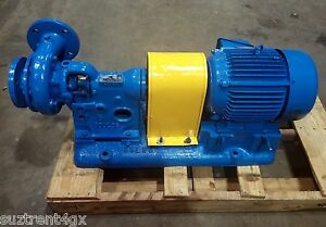 GOULDS-Pump-with-Siemens-Motor-5hp-Model-029-Never-Been-Grouted-PU003