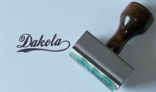 Custom School or Sports Team Name Rubber Stamp perfect for hand stamps!