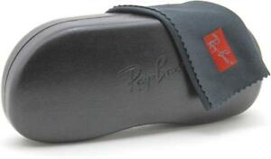 Ray-Ban-Hard-Clam-Shell-Glasses-Eyeglasses-Sunglasses-Case-Cleaning-cloth-LARGE