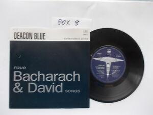 DEACON-BLUE-FOUR-BACHARACH-amp-DAVID-SONGS-7-034-VINYL-in-PIC-SLEEVE-EP
