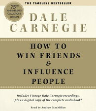 10 CD How to Win Friends Influence People Dale Carnegie & PDF Book - NEW