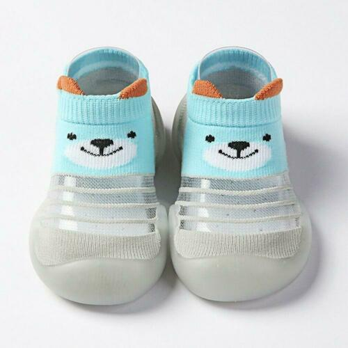 Toddler Shoes Infant Kids Baby Girls /& Boys Cartoon Tricoté Chaussettes Respirant Chaussures
