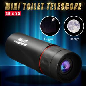 30X25-10X-Optical-Monocular-Night-Vision-Hunting-Camping-Hiking-Telescope-New