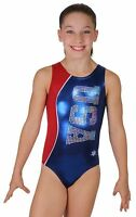 Red White Blue Independence Gymnastics Leotard By Snowflake Designs
