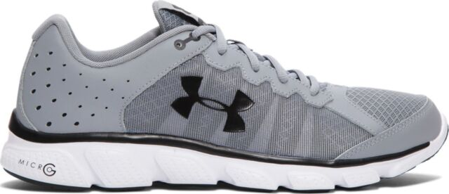 Under Armour Micro G Assert 6 1266224-036  70 Retail Super Fitness Shoe  size 8.5 bd5a0c99470b