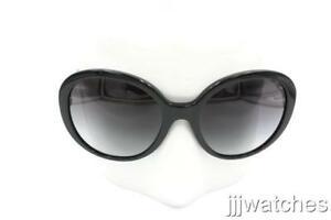 5cf21874494 Image is loading New-Burberry-Women-Butterfly-Polished-Black-Sunglasses -BE4239Q-