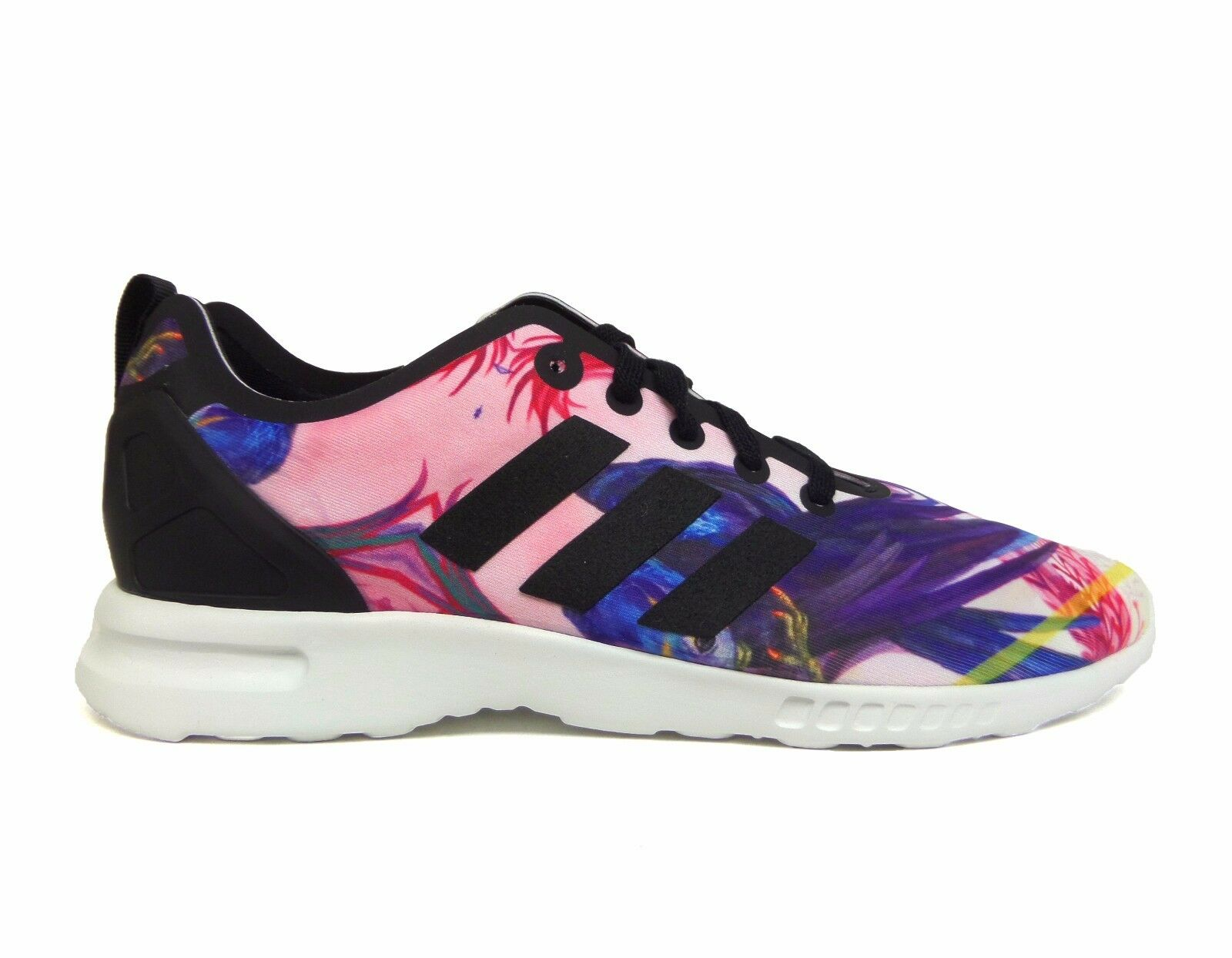 Adidas Women's ZX FLUX SMOOTH Shoes Print/Black S82937 a1