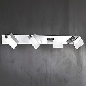 WOFI-lampara-LED-de-techo-pared-Sonett-4-Lamparas-cromado-ajustable-16-Vatios