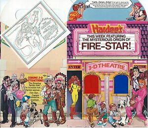 24bfdc713be222 Image is loading FIRESTAR-GIVEAWAY-PROMO-HARDEES-3D-THEATER-MINI-COMIC-