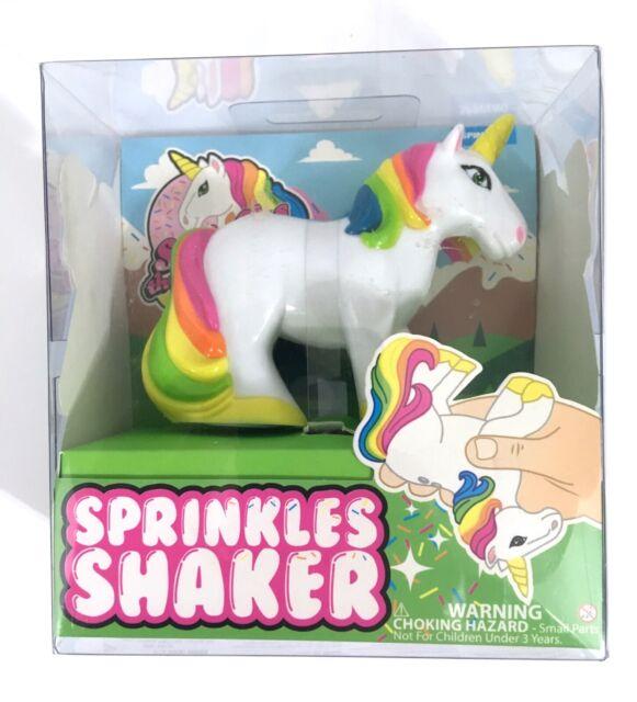 Sprinkles the Unicorn Sprinkles Sugar Shaker By Spinning Hat
