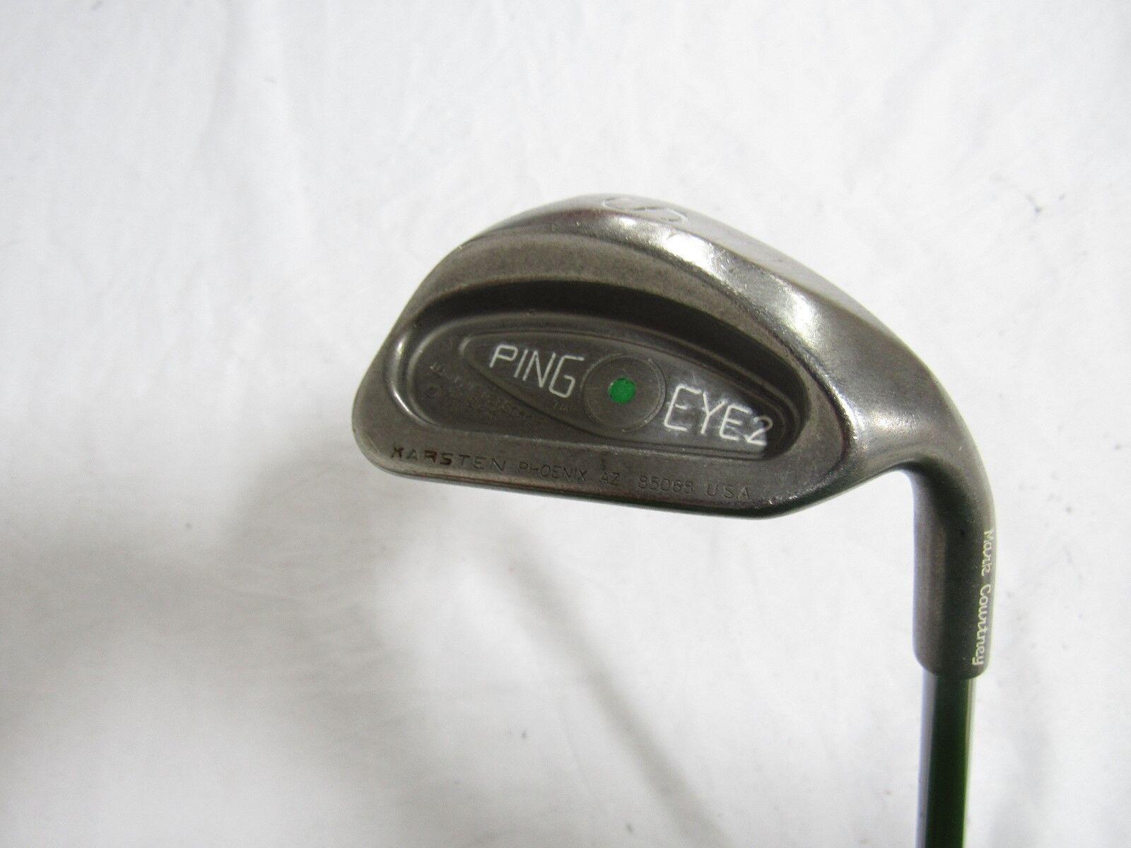 Utiliza  la mano derecha Ping Eye 2 (verde Dot) Arena S Cuña Ping jz Acero Rígido S Flex  calidad oficial