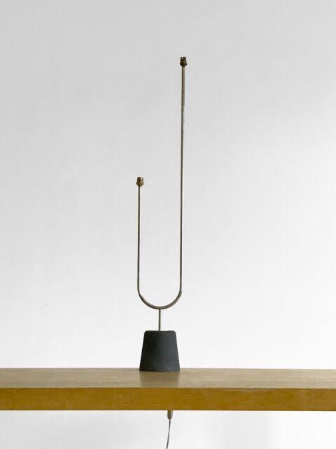 1950 ARLUS LAMPADAIRE MODERNISTE ART-DECO BAUHAUS FORME-LIBRE Arteluce