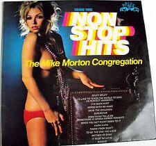 "The MIKE MORTON CONGREGATION ""NON STOP HITS"" Vol 3 LP 1972 Sexy Model Suzy Shaw"