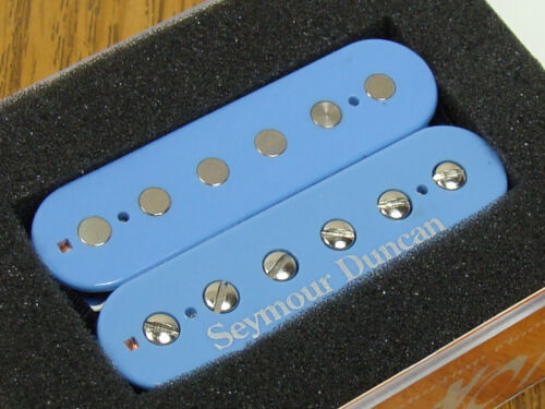 NEW USA Seymour Duncan SH-4 JB Model Humbucker PICKUP Bridge Light Blue Custom