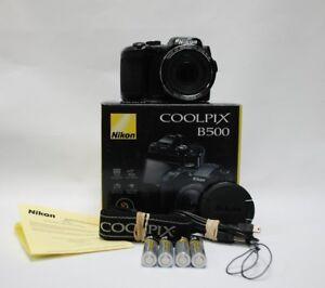 Nikon COOLPIX B500 16.0MP Digital Camera - Black WIFI  NFC   (Latest Model)  A