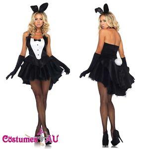 Ladies-White-Rabbit-Bunny-Costume-Mad-Hatter-Alice-In-Wonderland-Fancy-Dress