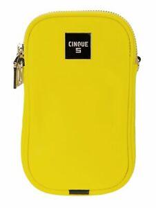 CINQUE-Mio-Phone-Crossbag-Umhaengetasche-Tasche-Yellow-Gelb