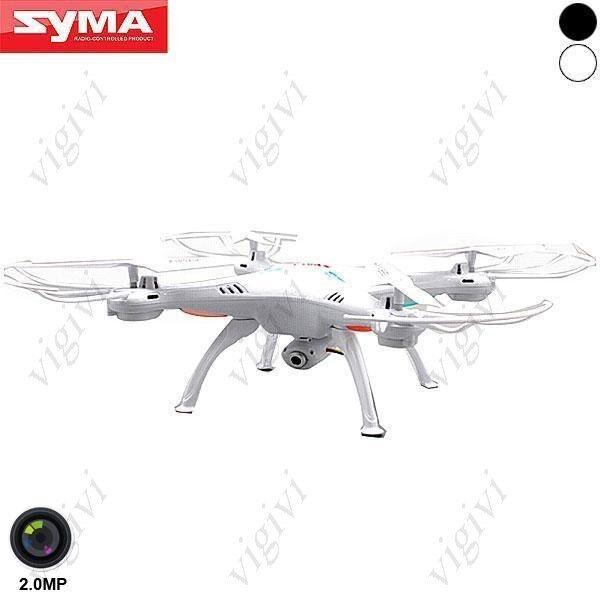 Syma X5SC-1 6-axis 4CH 360°Flips 2.4GHz RC Quadcopter CON 2MP CÁMARA DRON SD 4GB