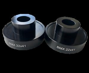 2 x BMX 22 x 41mm Press Drift M12 pair