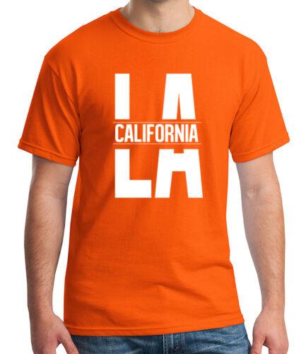 1795C Cool LA California Adult/'s T-shirt New CA Los Angeles Design Tee for Men