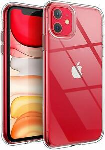Shockproof Transparent Silicone Case Cover For iPhone 11 XS Max XR 8 7 Plus 6S 6