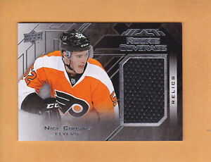 2015-16-UD-BLACK-ROOKIE-COVERAGE-RELICS-JERSEY-RCOV-NC-NICK-COUSINS-FLYERS