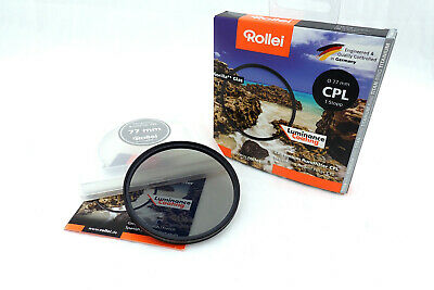 Rollei Premium CPL Polfilter Luminace Coating zirkular Ø 77 x 0,75 mm