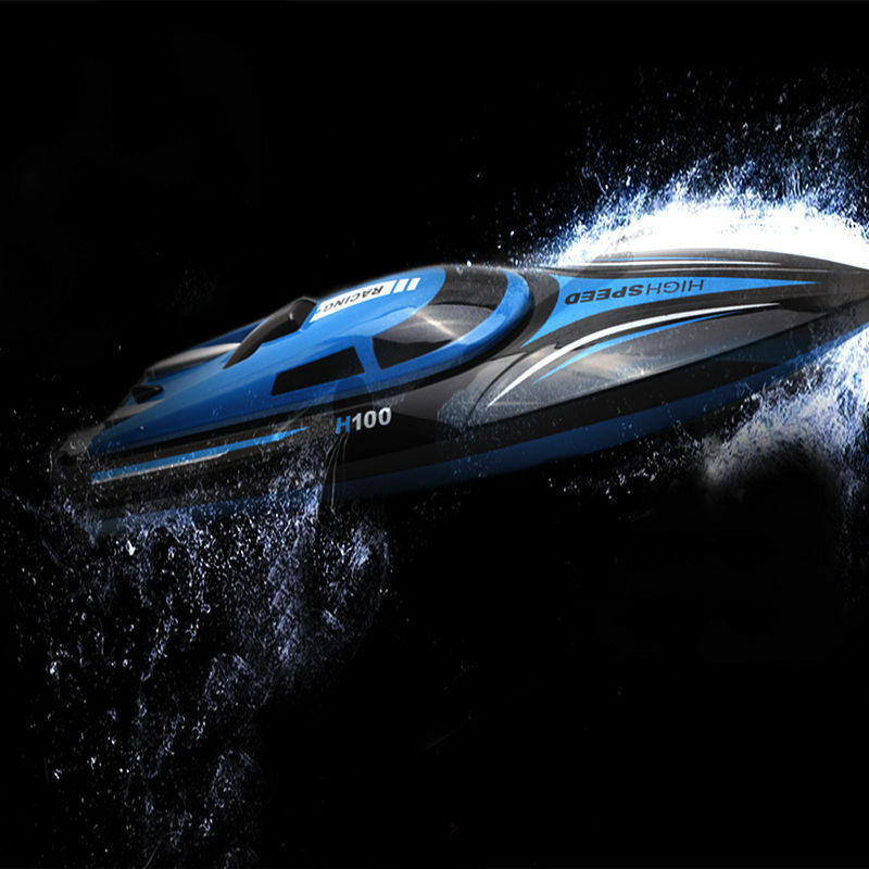 H100 2.4G  Water Cooling High Speed RC Remote Radio Control Racing Speed Boat giocattolo  marche online vendita a basso costo