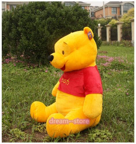 "40/"" 32/"" 24/"" 14/"" WINNIE THE POOH Large big Plush Doll Stuffed soft Toys Xmas gift"