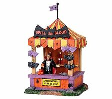 Lemax 03808 SPILL THE BLOOD Spooky Town Table Accent Retired Carnival Decor I