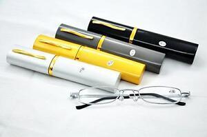 MT73-Pen-Holder-Silver-Framed-Unisex-Pocket-Reading-Glasses-with-Aluminum-Case