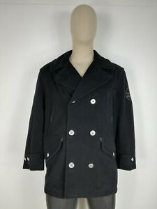 MURPHY-amp-NYE-DOPPIOPETTO-in-LANA-Cappotto-Giubbotto-Jacket-Giacca-Tg-54-Uomo