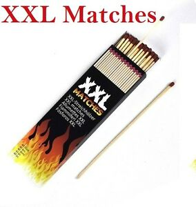 XXL LONG 20cm Safety Wooden Matches 40pcs In Box Candle BBQ lighter BN