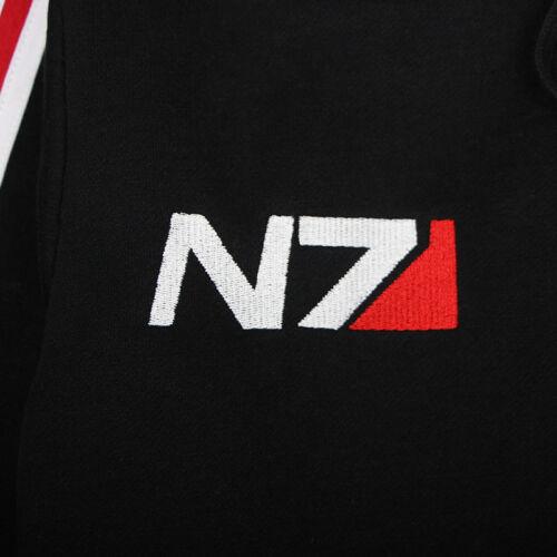 New Mass effect John·Shepard N7 Cosplay Jacket Costume Coat Hoodie Cotton