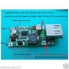 el DC 5V-18V to 5V 2A USB Solar Panel Charger Regulator Folding bag / Cell Panel