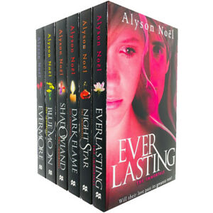The-Immortals-6-Books-Collection-Set-by-Alyson-Noel-Everlasting-Night-Star