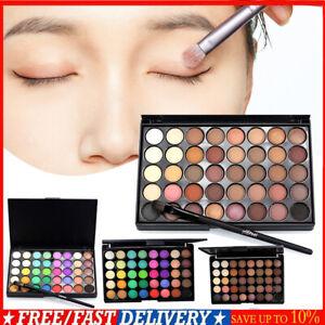 40 Colori Opaco Perlato Shimmer Palette Ombretto Trucco Polvere IT