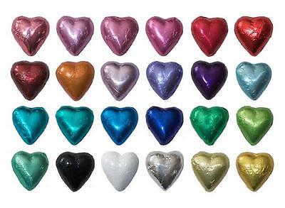 30 MILK CHOCOLATE HEARTS - CUSTOM ORDER FOR JUDY