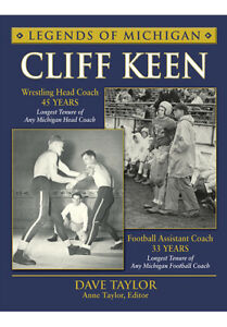 Legends-of-Michigan-Cliff-Keen-by-Dave-Taylor-2013-Hardcover