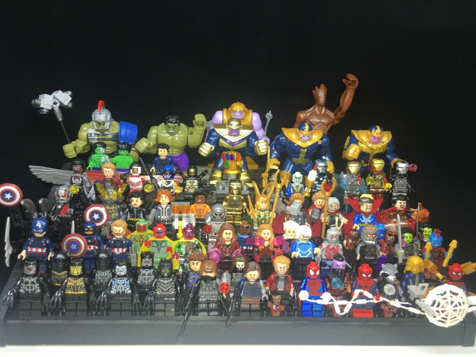 71 pcs Marvel Superhero Avengers 4 Full Set premium Thanos fit Lego Mini figure