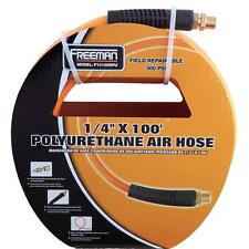Pneumatic Air Compressor Hose 100 ft Accessory Part Polyurethane Flexible Tool
