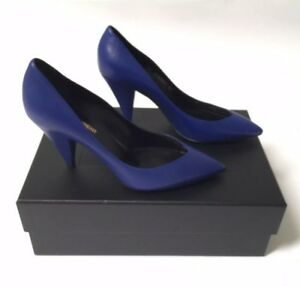 Saint-Laurent-Shoes-Size-37-NWB-Blue