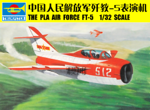 Trumpeter 02203 The PLA Air Force FT-5 Training DIY Plane Model Fighter 1 32