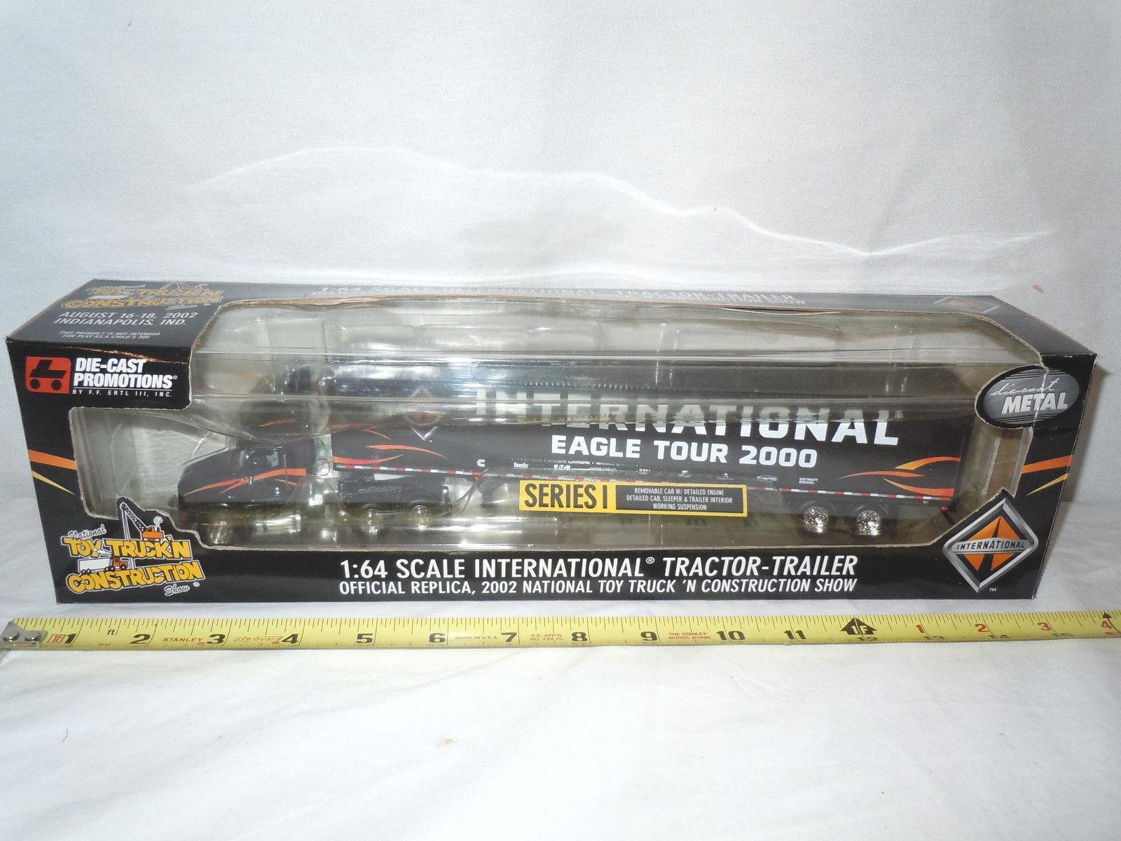 International Eagle Tour 2000 Semi Avec Remorque 2002 nttcs Edition par DCP
