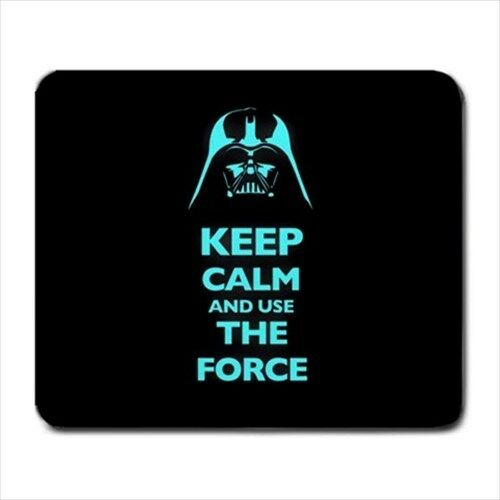 KEEP CALM AND USE THE FORCE Large Mousepad mouse pad mat star wars darth vader