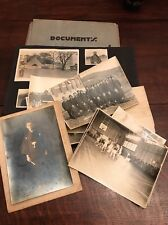 1920s Japan Mission Trip Photograph Lot Schoolchildren Earthquake Basketball