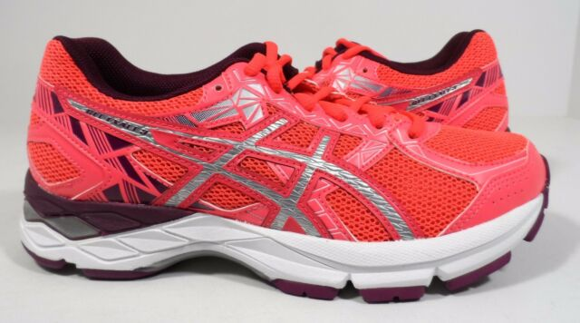 ASICS Women's Gel-Exalt 3 Running Shoe Diva Pink/Silver/Dark Purple Size 5