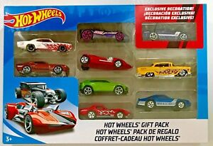Hot wheels gift pack vehicle set w exclusive decoration