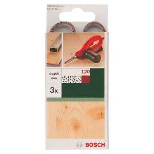 Bosch-Powerfeile-3-x-Schleifbaender-6-x-455-mm-K-120-Black-amp-Decker-Powerfeile